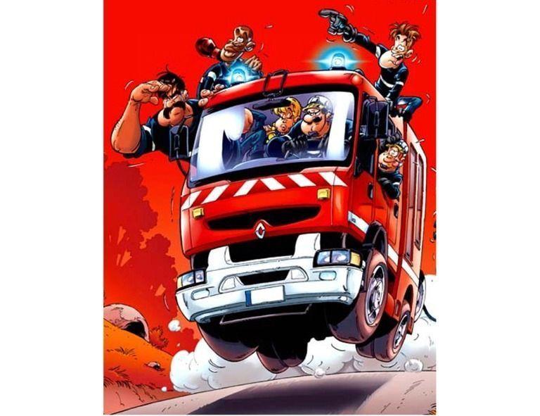 Diner dansant des pompiers de saint genou le 08 mars 14 - Dessin pompier humoristique ...